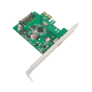FPE-2U311 PCIe USB3.1 Gen2 ( 10Gbps) Type-C port_ASM1142