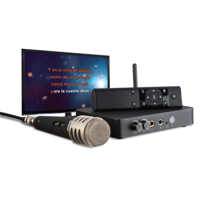 QUAD-CORE 4K SMART KARAOKE ANDROID BOX
